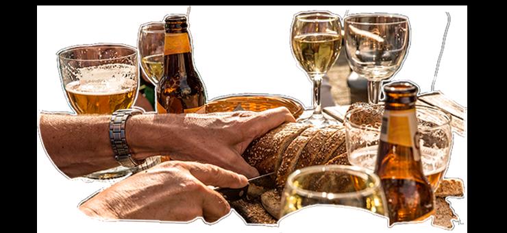 Eten en drinken - de Waard van Kekerdom