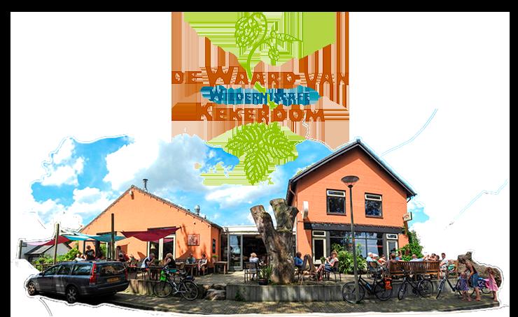 Wildernis cafe - Waard van Kekerdom logo